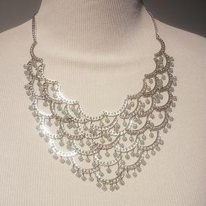 Romolo Macalla Tiered Bib necklace